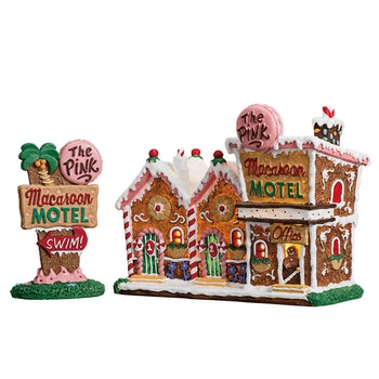 The Pink Macaroon Motel, Set Of 2