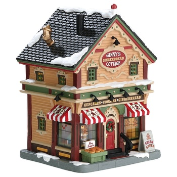 Ginny's Gingerbread Cottage