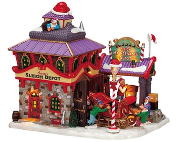 Santa's Sleigh Maintenance Depot