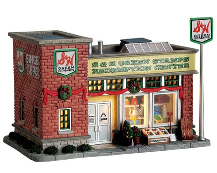 S & H Green Stamps Store