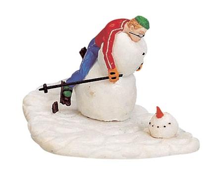 Not The Best Skier