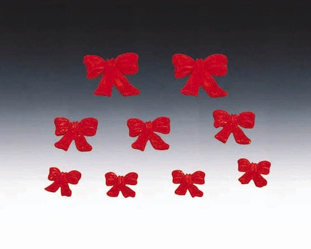 Red X'Mas BowSet/9