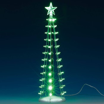 Lighted Silhouette Tree - Lemax General Products - Trees