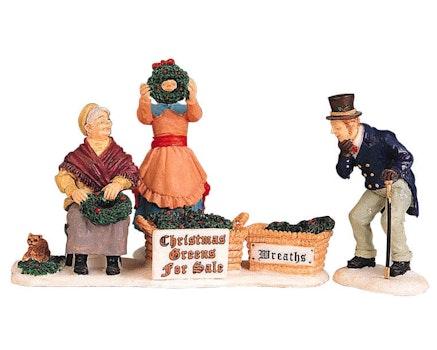 Selling Christmas Greens