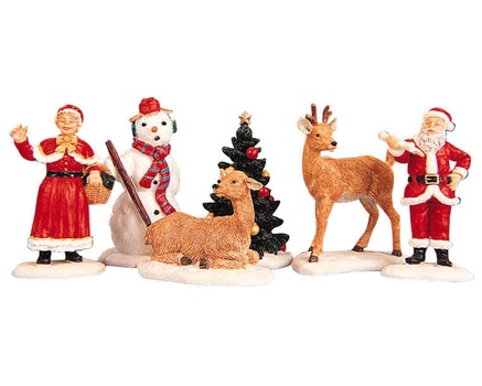 Santa's Wonderland Figurines