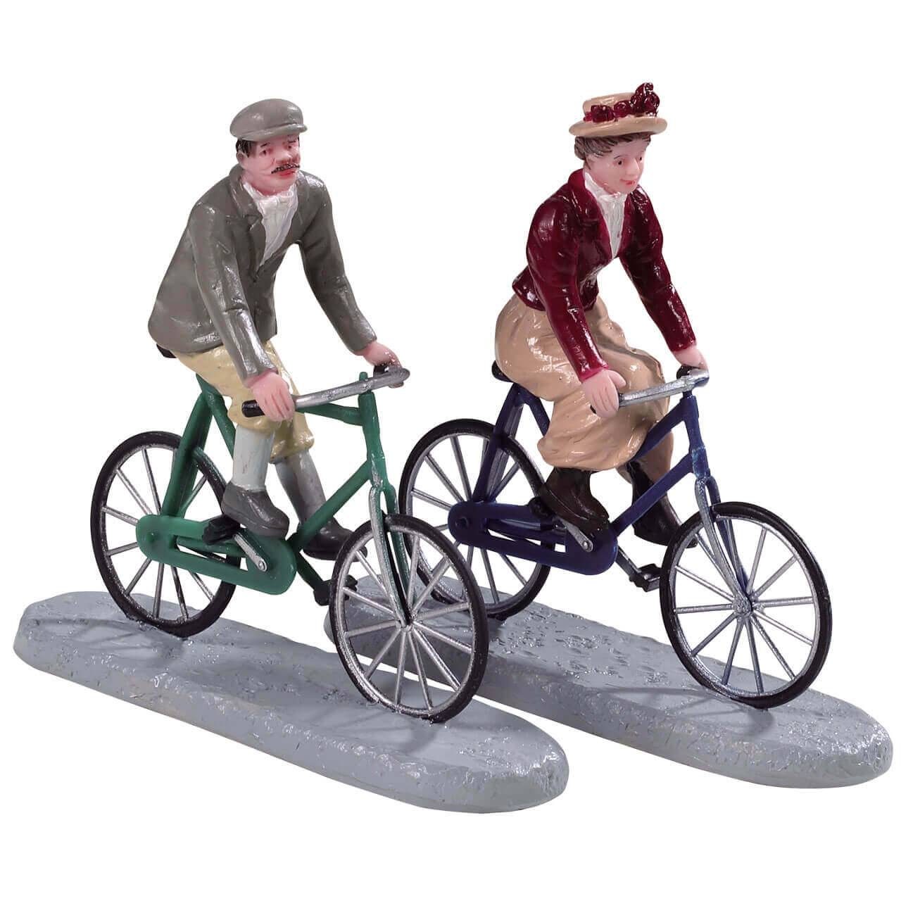 Lemax Village Collection Vintage Bicycle Set of 2 # 44790