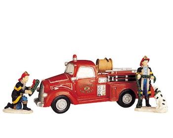 Festive Fire Engine