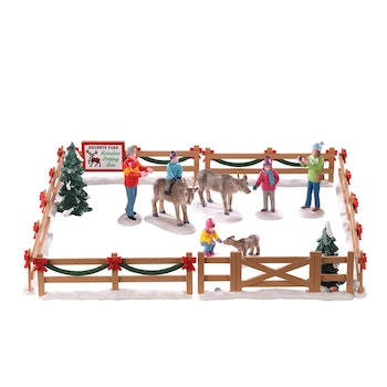 Reindeer Petting Zoo
