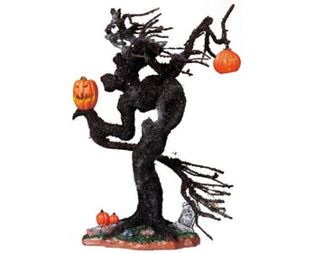 Witch Tree Pumpkins