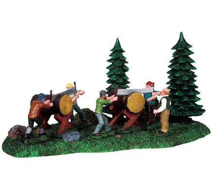Log Sawing Games