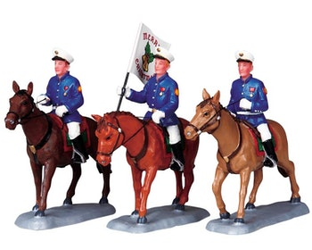 Equestrian Flag Bearers