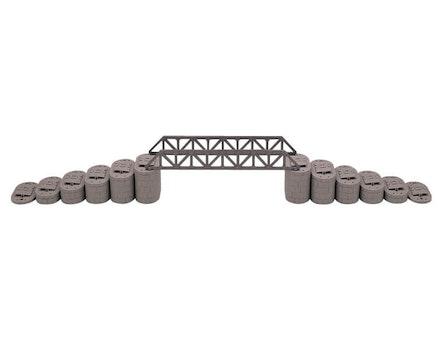 Railroad Trestle Pillars 4