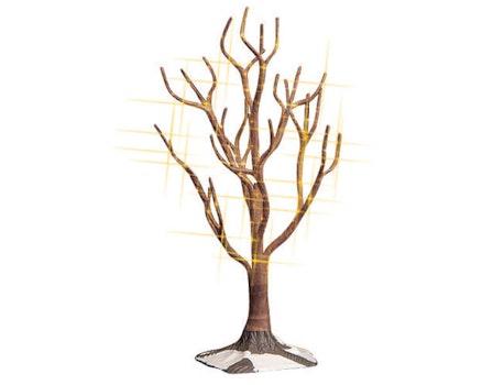 Shimmering Oak Clear Large