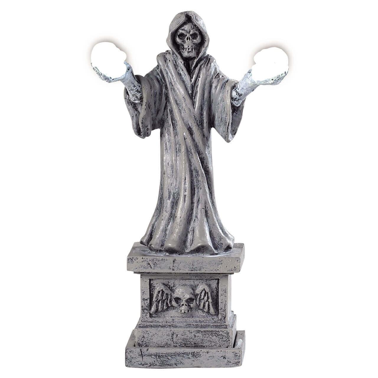 Skeleton Lamp Halloween Spookytown Spooky Town Modellbau LEMAX