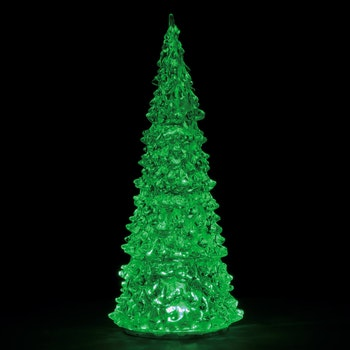 Crystal Lighted Tree, 3 Color Changeable, LARGE