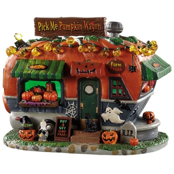 Pick Me Pumpkin Wagon