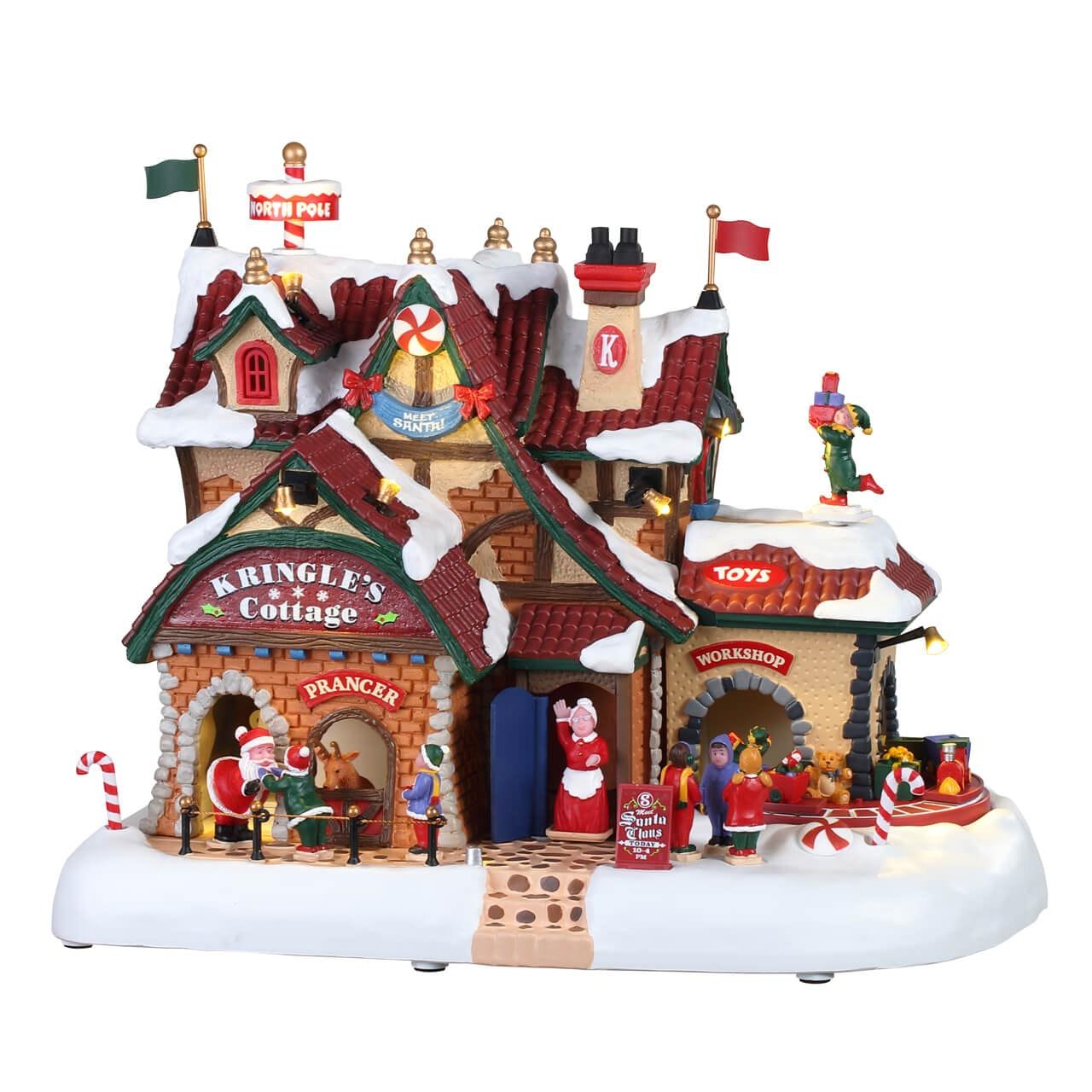 Kringles For Christmas.Kringle S Cottage